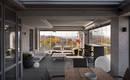 Красивая квартира в Днепре под названием Cosmos от украинской студии Pashchak design