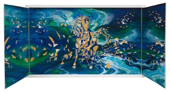 Картины художницы - отображение современного искусства