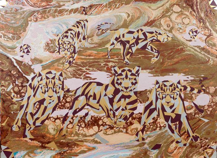 Животные - одна из любимых тем художницы