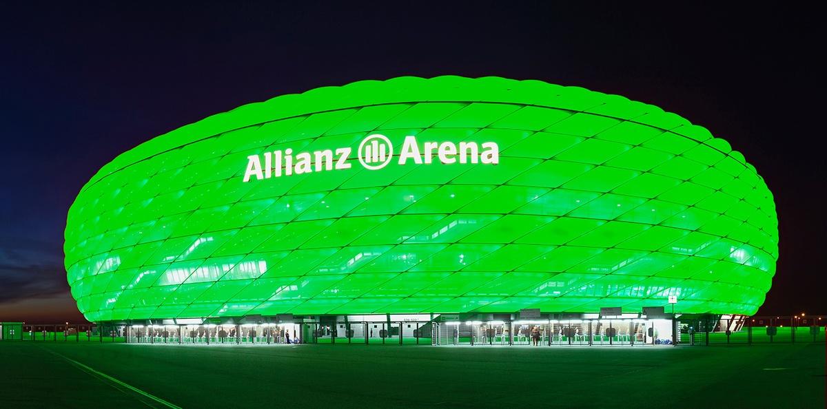 allianz-arena-green-lights-photo