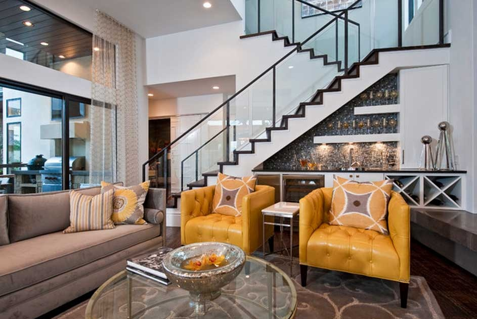 classy-and-glam-under-stair-bar