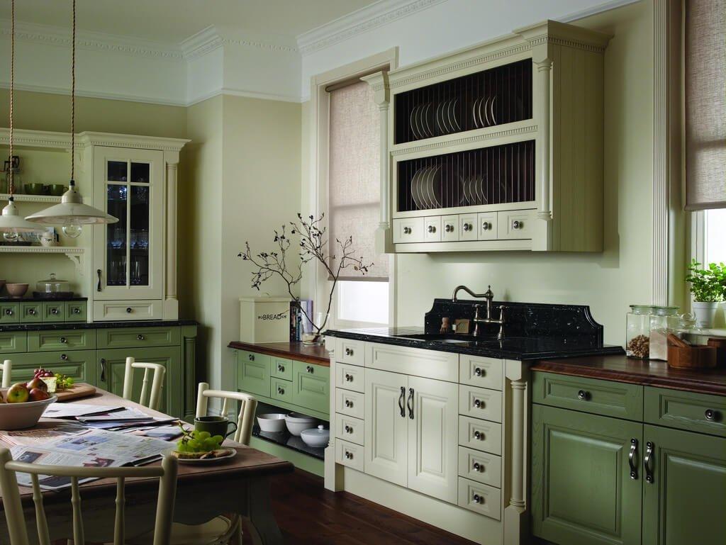 Оформление комнаты в оливковом цвете