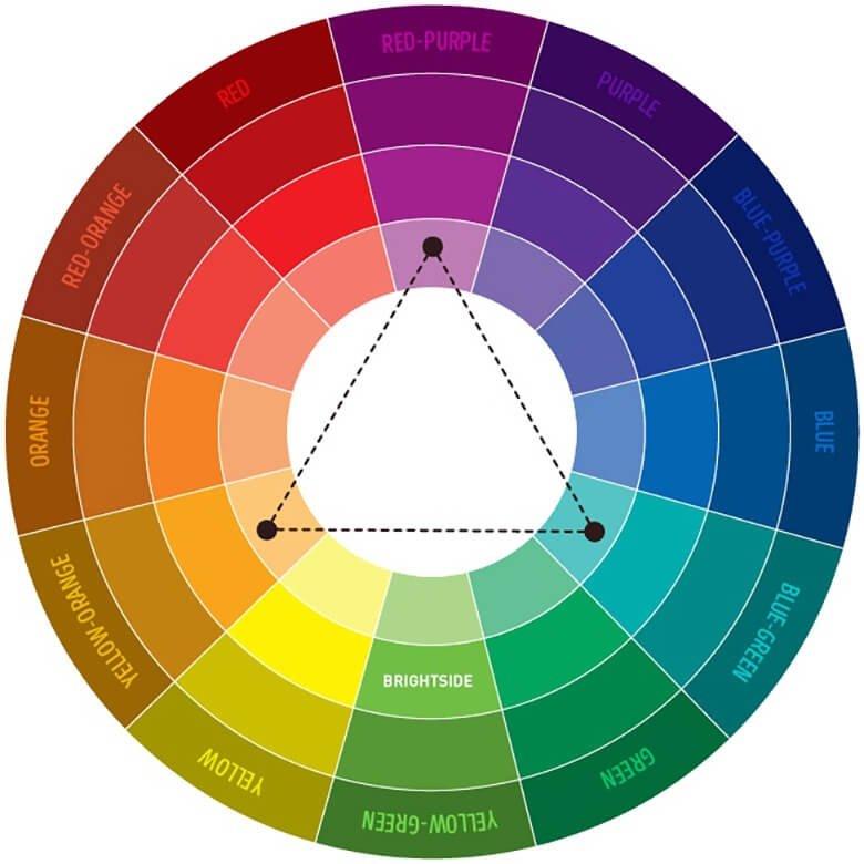 Выбор палитры цветов