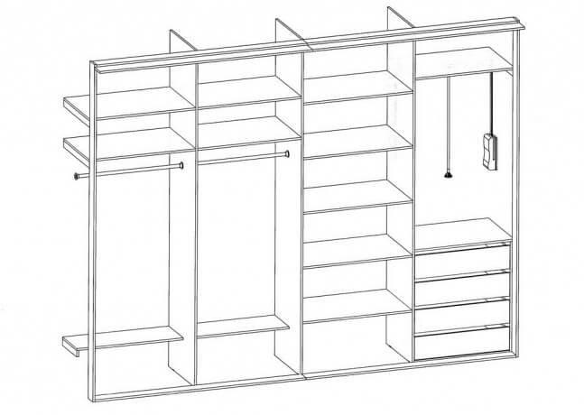 Планирование изготовления шкафа
