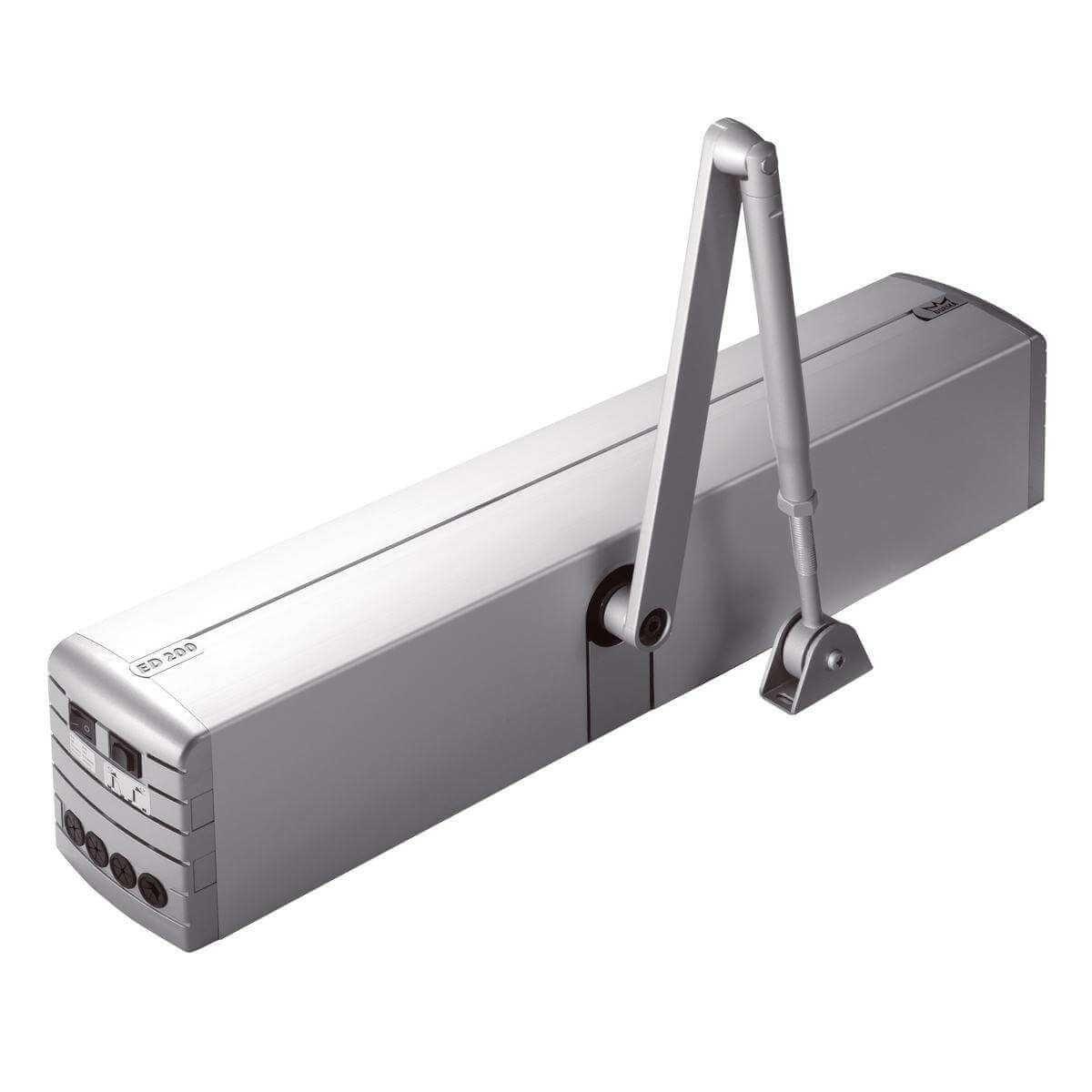 На картинке изображен доводчик для скольжения дверей