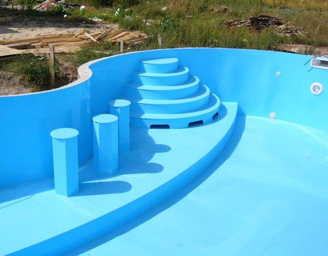 Полипропиленовый бассейн своими руками