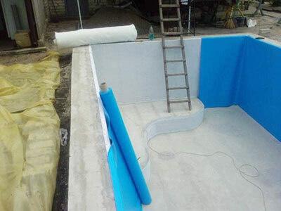 Проведение работ по гидроизоляции бассейна