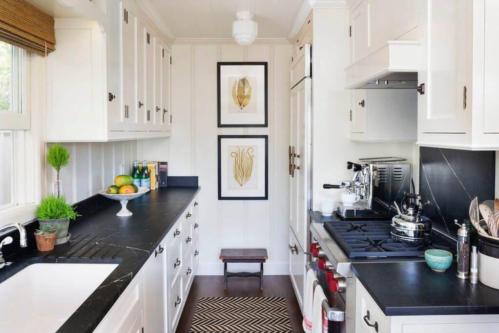 Элементы декора маленькой кухни