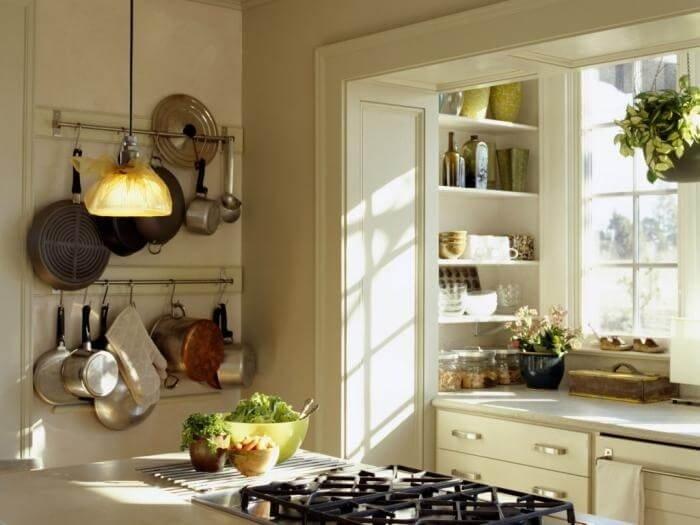 Элементы декора маленькой кухни 2