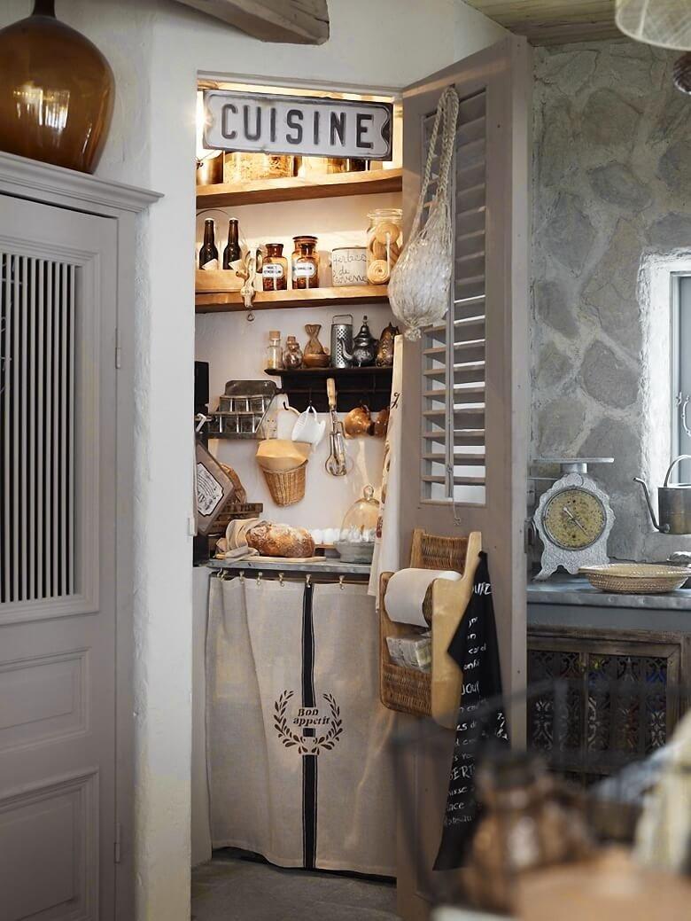 Стильная кухня в хрущевке