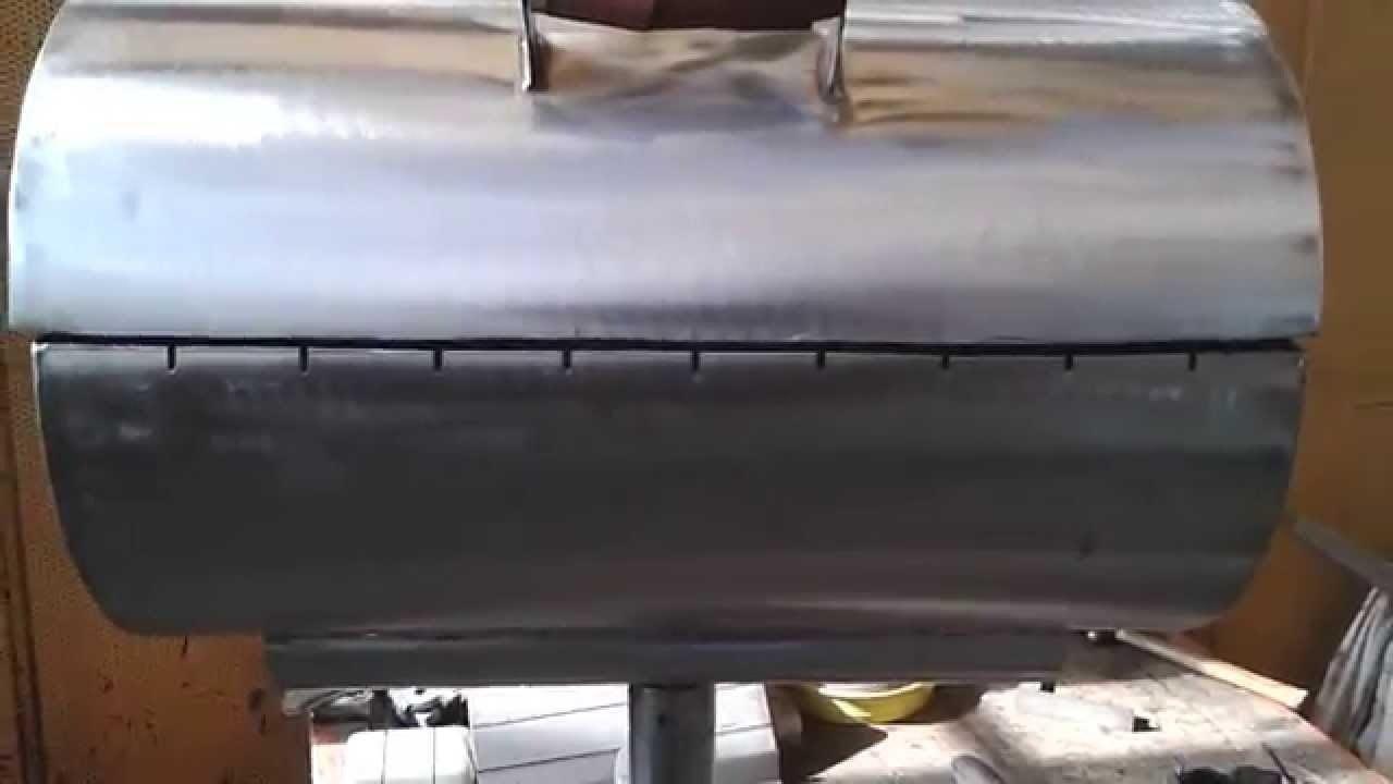 Фото бочки, в которой хранились горючие материалы