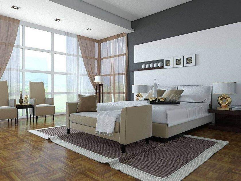 Мебель, которая придает спальне оттенок стиля хай тек