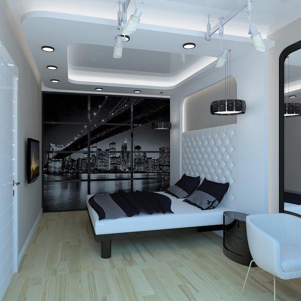 Многофункциональный натяжной потолок, в плане освещения
