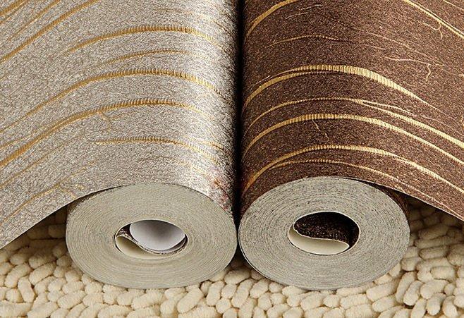 Фото рулонов виниловых обоев на бумажной основе