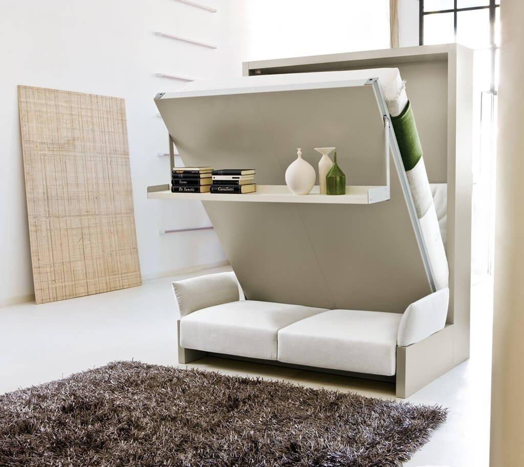 Оформление маленького зала в стиле минимализм