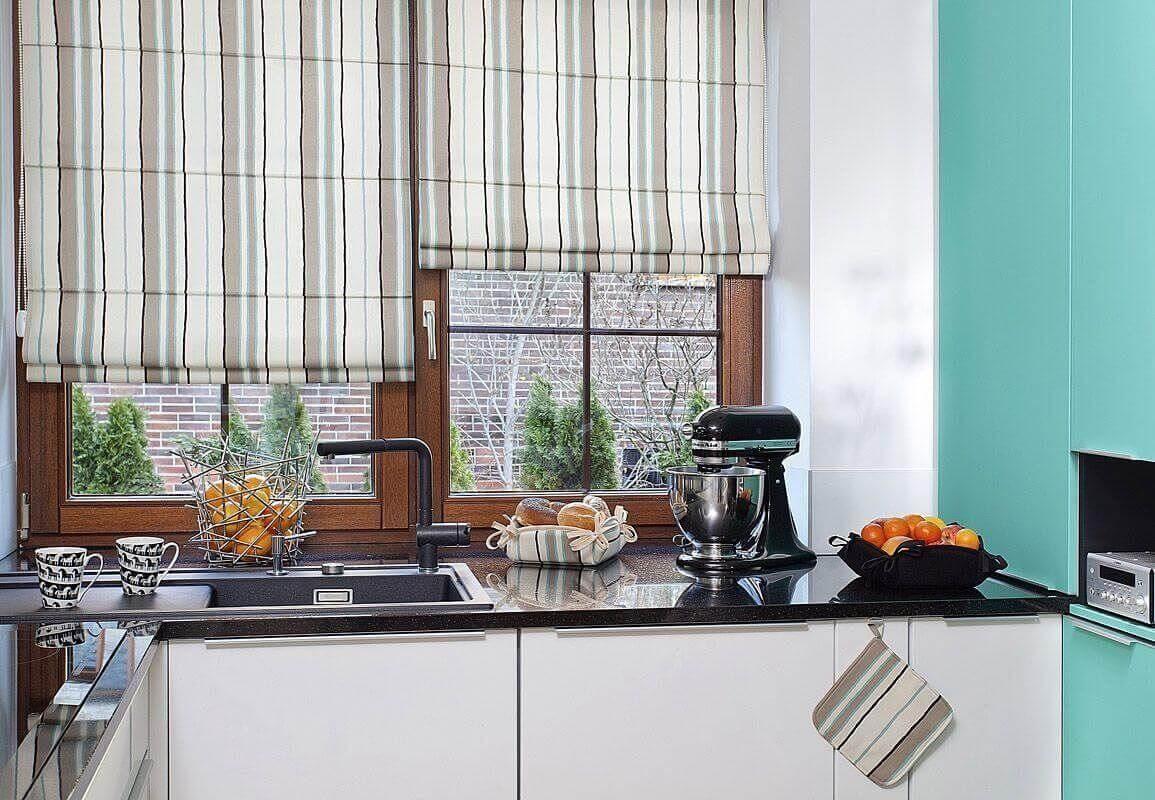 Фото жалюзей на кухне