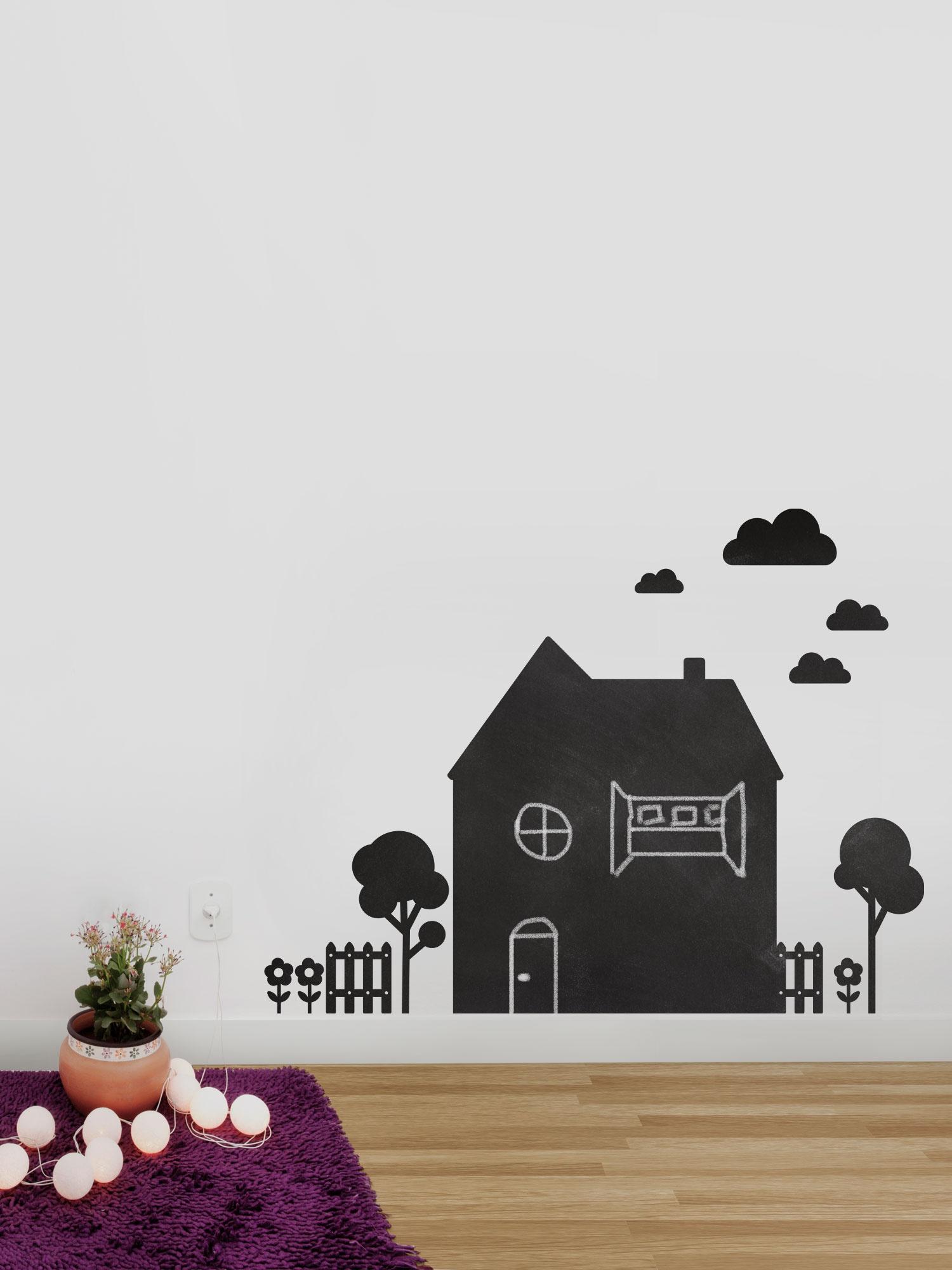 shopkola-adesivo-de-parede-lousas-casinha-preta