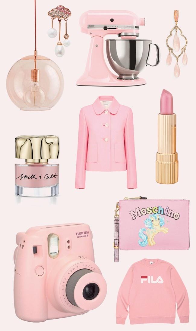 millennial-pink-moodboard-lampadario-mixer-cucina-orecchini-giacca-miu-miu-rossetto-este-lauder-smalto-moschino-pochette-my-little-pony-_01