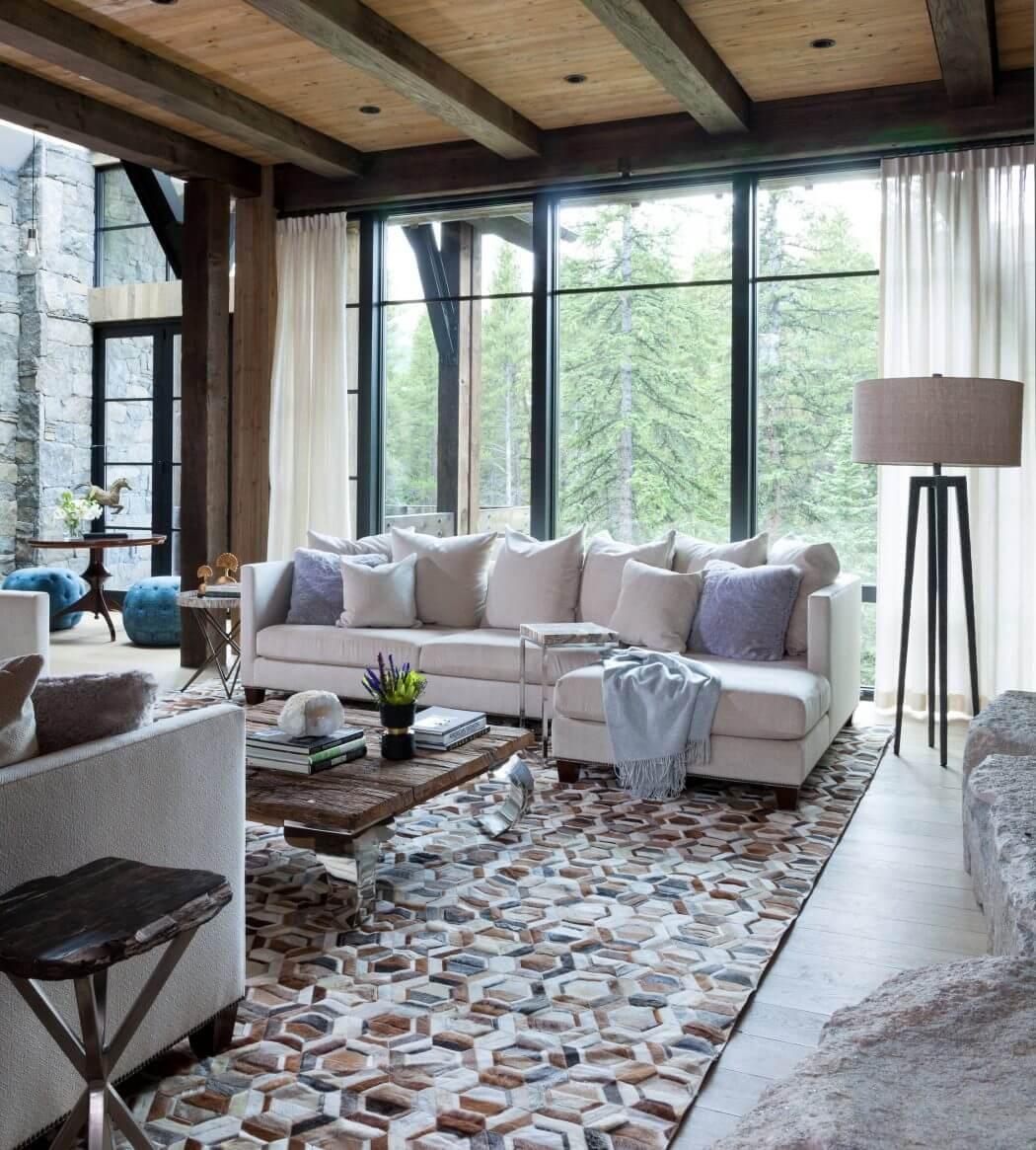 interieur-rustique-decoration-chalet-de-montagne