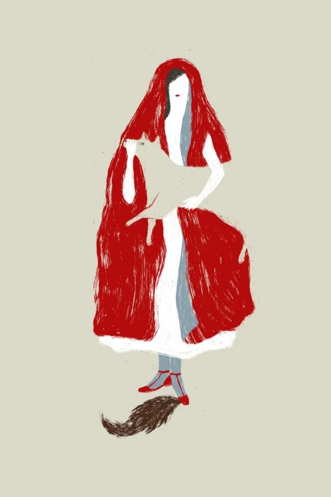 elisa-talentino-la-rivincita-di-cappuccetto-rosso-illustrazione