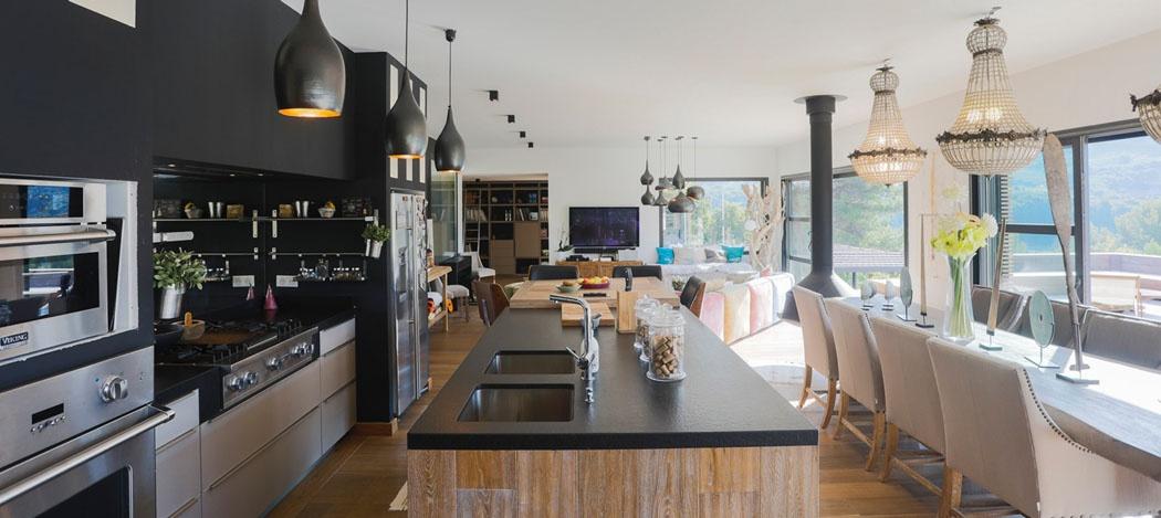 cuisine-americaine-luxe-villa-de-vacances