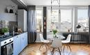 Гостиная рядом с кухней – 10 вариантов совмещения