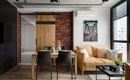 Стильный интерьер квартиры в мегаполисе