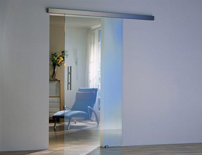 Двери их стекла