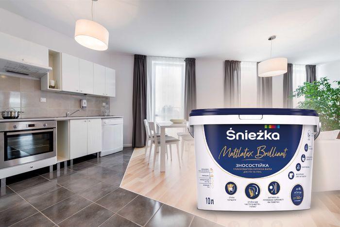 Використання зносостійкої фарби для стін та стель