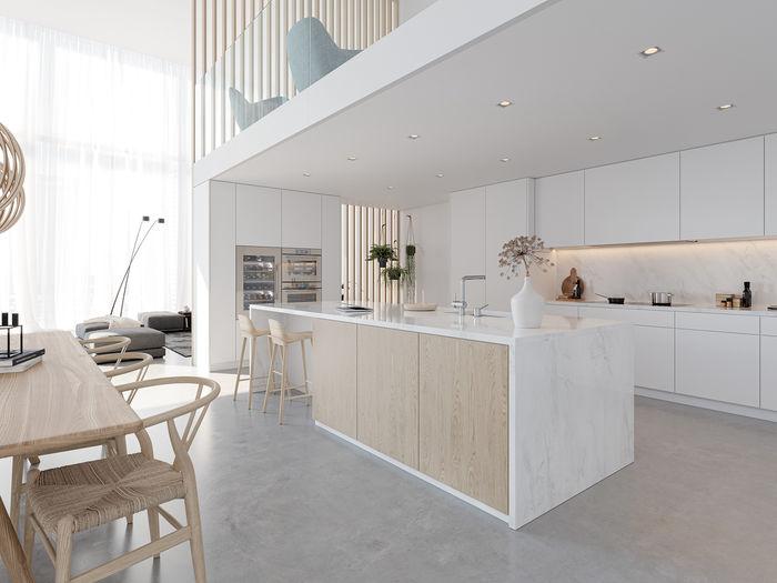 Ви зможете поєднувати в межах одного простору духові й парові шафи, кавові центри та винні холодильники