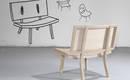 Пятерка эффектных дизайнерских стульев из дерева