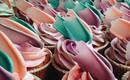Абстрактные торты с живописью в стиле Brushstroke