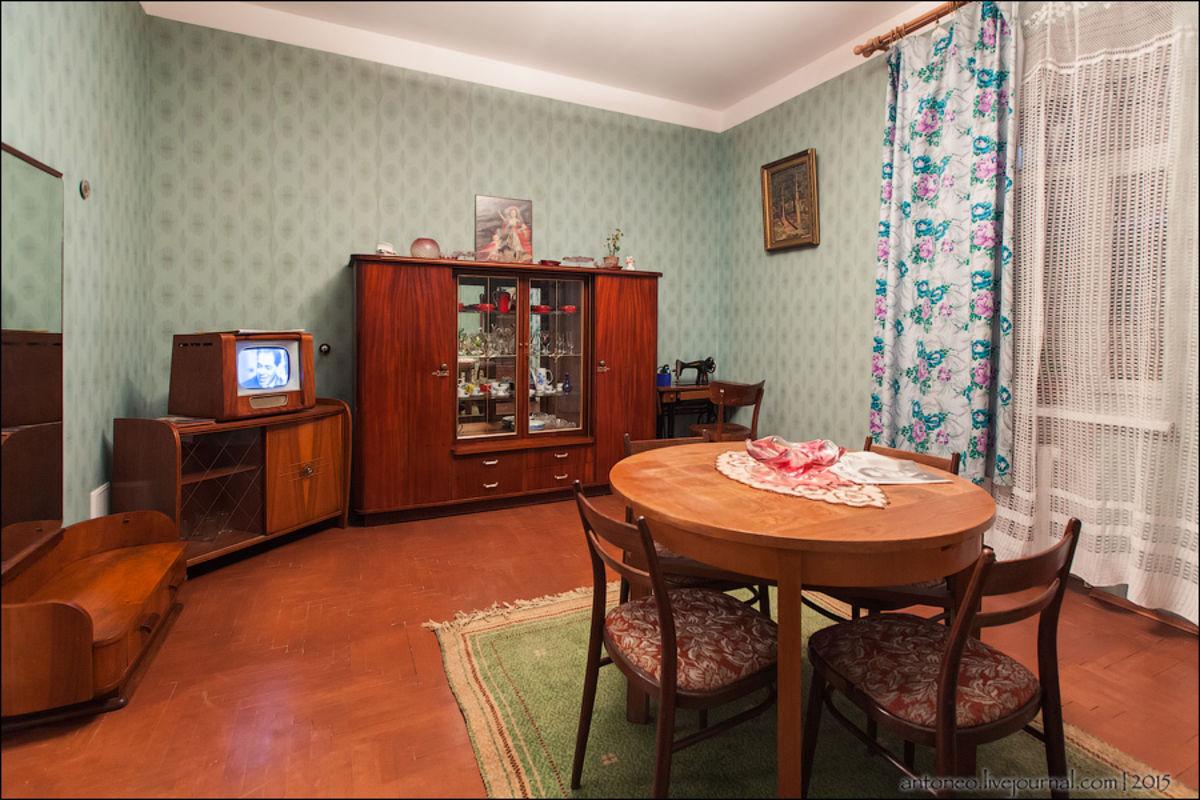 старые советские квартиры фото рос воспитывался