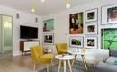 Квартира у Польщі: текстури лофта і жовтий колір для затишного життя