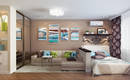 Спальня в однокомнатной квартире: 6 способов обустройства