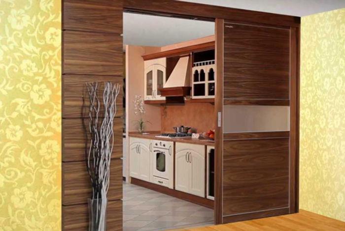 Способ скрыть рабочую зону открытой кухни