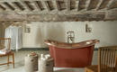 Ванная в стиле лофт: идеи оформления стен под бетон