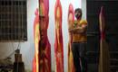 Удлиненные деревянные скульптуры Кико Мияреса