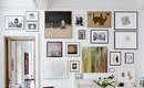 Галерейная стена без ошибок: как сделать ее впечатляющей