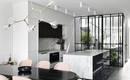 Чувственная элегантность: восхитительный черно-белый интерьер дома в Мельбурне