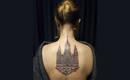 Впечатляющий дизайн татуировок, вдохновленных архитектурой