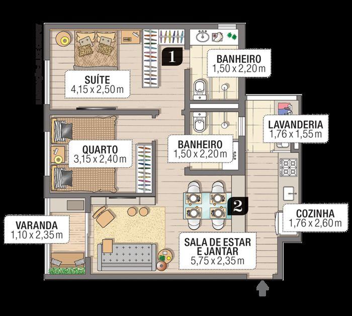 План - Alice Campoy/Minha Casa