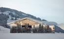 Визуальное безумие в Альпах: зеркальный дом в стиле рюкзака