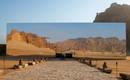 Зеркальный театр в пустыне: идеальная площадка для миража