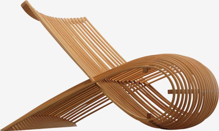 Marc Newson Wood Chair для Cappellini