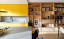 Семейный дом с отлично продуманным хранением и яркими цветными акцентами