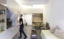 Удобная квартира 60кв. М, в которой стена превращена в шкаф