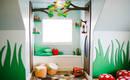 Волшебная лесная сказка, воплощенная в детской комнате