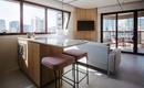 Небольшая квартира с удобной планировкой и лаконичным интерьером